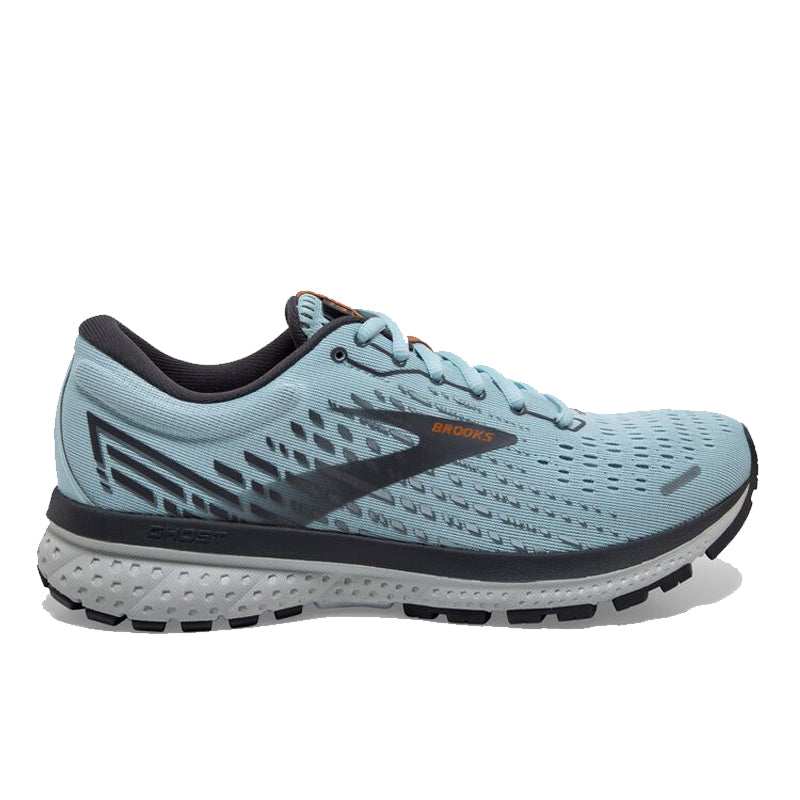 Women's Brooks Ghost 13 - Light Blue/Blackened Pearl/White