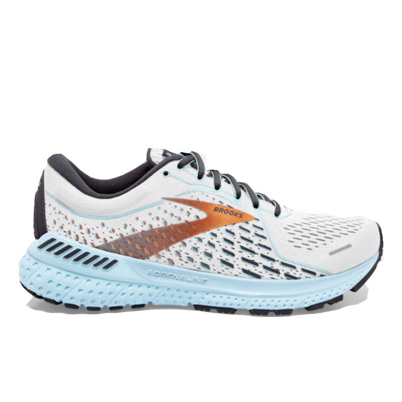 Women's Adrenaline 21 - White/Alloy/LightBlue