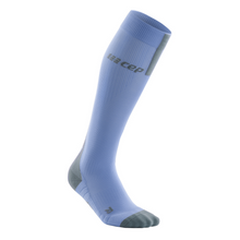 Load image into Gallery viewer, Women's CEP Tall Run Socks 3.0 - Sky/grey