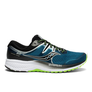 Men's Saucony Omni ISO 2 - Blue/Silver Argent