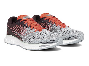 Women's Saucony Freedom 3 - Sky Grey/Coral