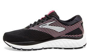 Women's Brooks Addiction 14 - Black/Hot Pink/Silver