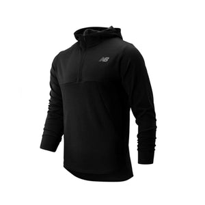 Men's New Balance Tenacity Qtr Zip - Black