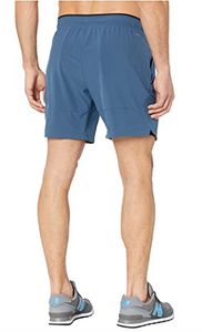 "Men's New Balance Fortitech 7"" 2-in-1 Shorts - Stone Blue"