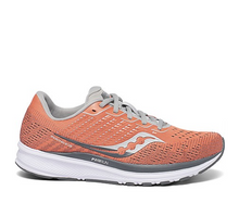 Load image into Gallery viewer, Women's Saucony Ride 13 - Coral/Alloy