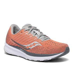 Women's Saucony Ride 13 - Coral/Alloy