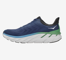 Load image into Gallery viewer, Men's Hoka Clifton 7 - MOONLIT OCEAN / ANTHRACITE