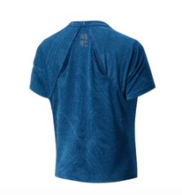 Load image into Gallery viewer, Women's New Balance Q Speed Fuel Jacquard Short Sleeve - Rogue Wave
