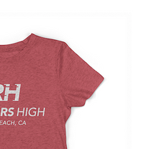 Load image into Gallery viewer, RH Signature 2.0 Women's Tee - Vintage Red