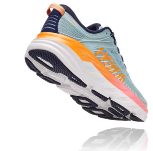 Women's Hoka Bondi 7 - BLUE HAZE / BLACK IRIS