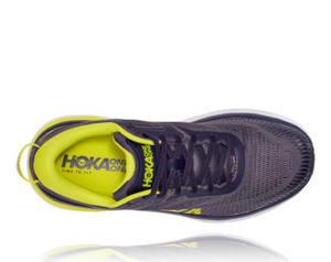 Men's Hoka Bondi 7 - Odyssey Grey / Deep Well