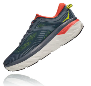 Men's Hoka Bondi 7 - Turbulence / Chili