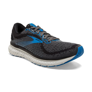 Men's Brooks Glycerin 18 - Black/Ebony/Blue