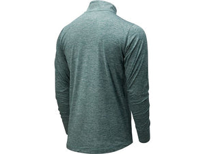 Men's New Balance Fortitech Quarter Zip - Mirage Green