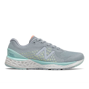 Women's New Balance 880v10 - Light Slate with Bali Blue