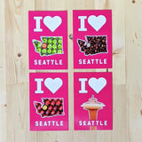 I 🤍 Seattle Postcards
