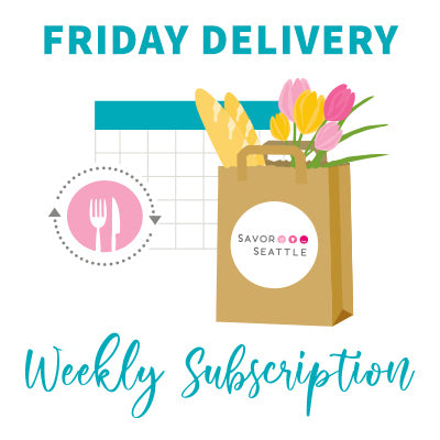 Iconic Market Box Subscription - Weekly Delivery on FRIDAY - Swap