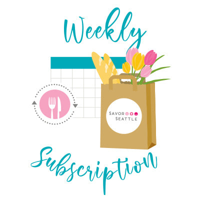 Iconic Market Box Subscription - Weekly Delivery on THURSDAY