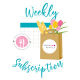 Iconic Market Box Subscription - Weekly Delivery on TUESDAY