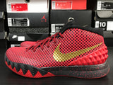 Nike Kyrie 1 ID Red/Gold Size 8