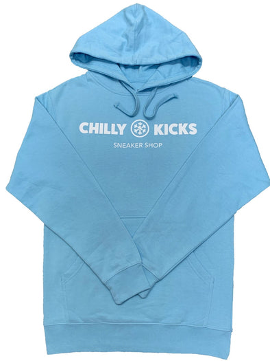 Chilly Kicks Logo Hoodie - Blue