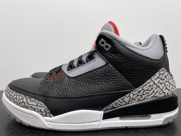 Nike Air Jordan 3 Black Cement 2018 Size 11.5