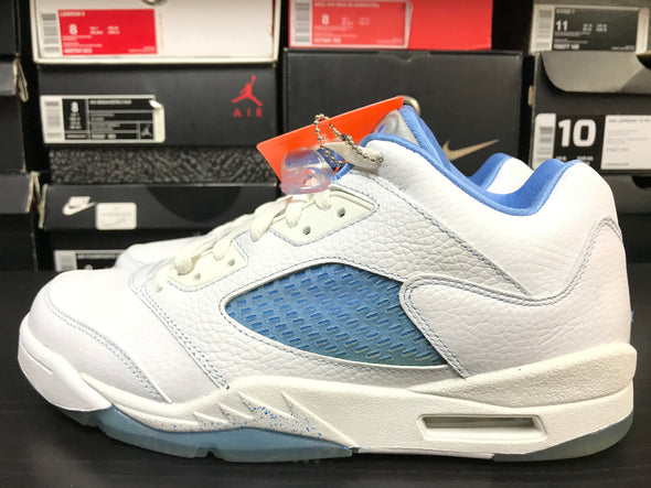 WMNS Nike Air Jordan 5 Low University Blue 2006 Size 10