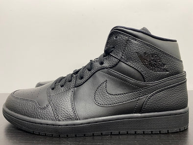 Nike Air Jordan 1 Mid Triple Black