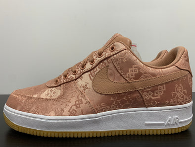 Nike Air Force 1 Low Clot Rose Gold Silk