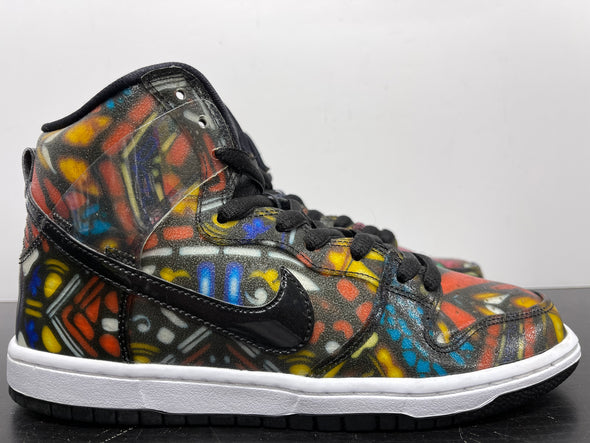 Nike SB Dunk High Concepts Stained Glass
