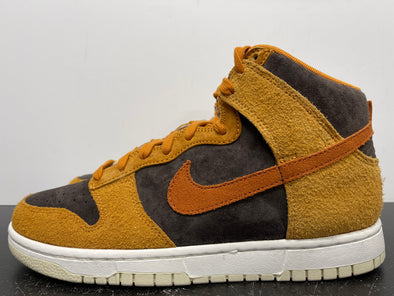 Nike Dunk High Dark Russet