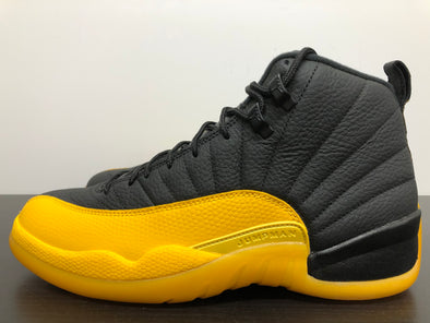 Nike Air Jordan 12 Black University Gold