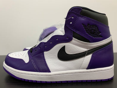 Nike Air Jordan 1 Court Purple White