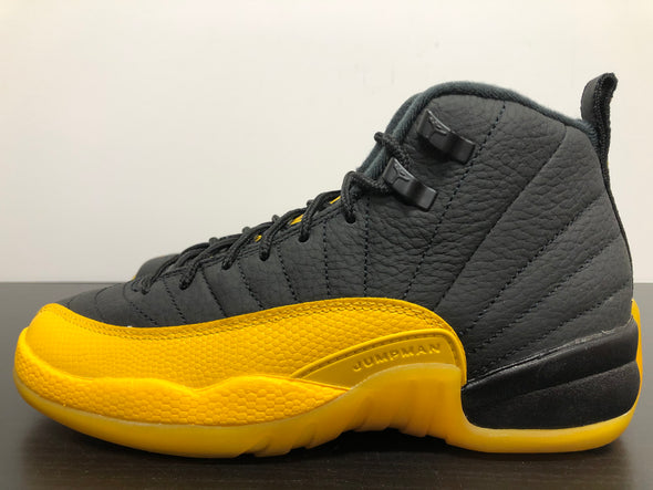 Nike Air Jordan 12 Black University Gold GS