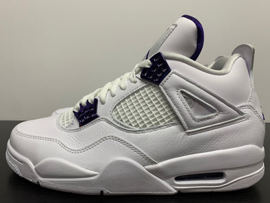Nike Air Jordan 4 Metallic Purple