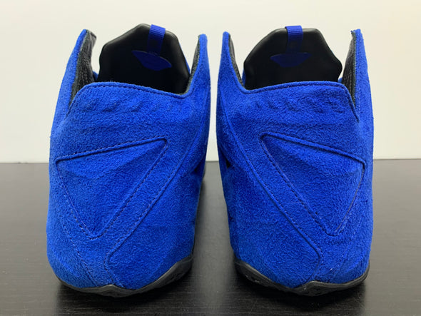 Nike LeBron 11 EXT Blue Suede Promo Size 12.5