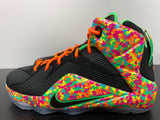 Nike LeBron 12 GS Fruity Pebbles Size 5Y