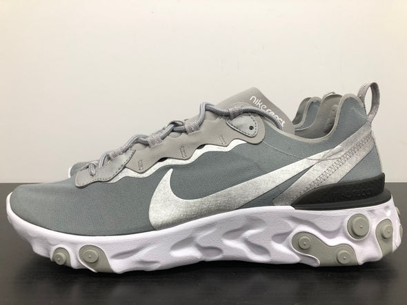 Nike React Element 55 Metallic Silver