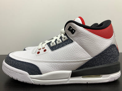 Nike Air Jordan 3 SE Fire Red Denim GS