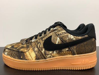 Nike Air Force 1 Low Realtree Black Size 8