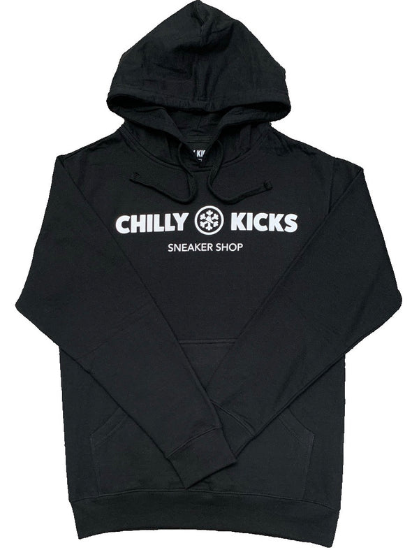 Chilly Kicks Logo Hoodie - Black