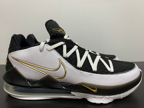 Nike LeBron 17 Low White Metallic Gold