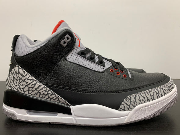 Nike Air Jordan 3 Black Cement 2018