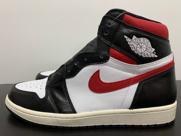 Nike Air Jordan 1 Black Gym Red