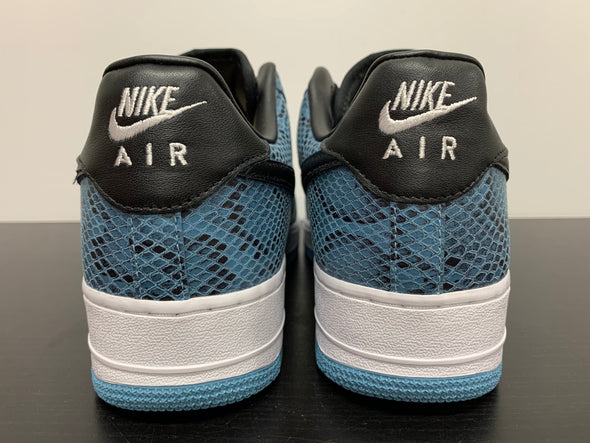 "WMNS Nike By You Air Force 1 Low ""Blue Snakeskin"""