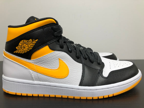WMNS Nike Air Jordan 1 Mid White Laser Orange