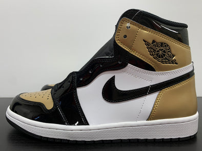 Nike Air Jordan 1 Gold Toe