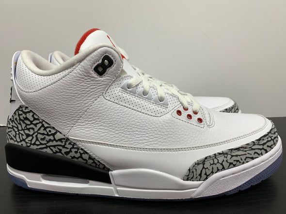 Nike Air Jordan 3 Free Throw Line White Cement
