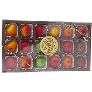 Marzipan by Marlow Candy 18 pc. Assorted Fruit candy