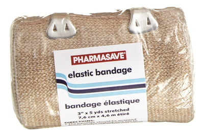 "Pharmasave Elastic Bandage 10cmX4.6m (4""x5yds) - Simpsons Pharmacy"